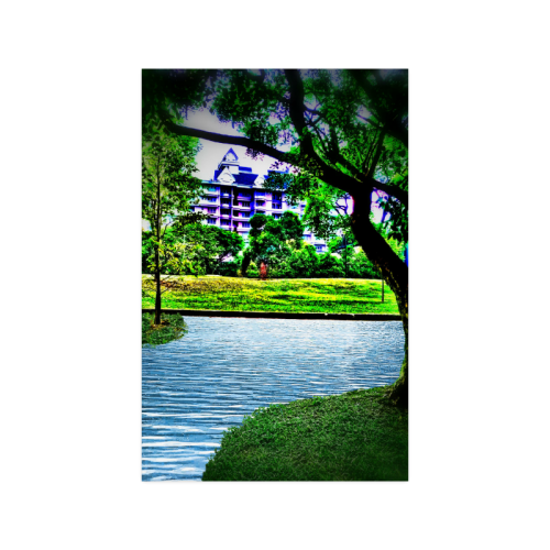 """Condo by the Park - Jera Nour Poster 11""""x17"""""""