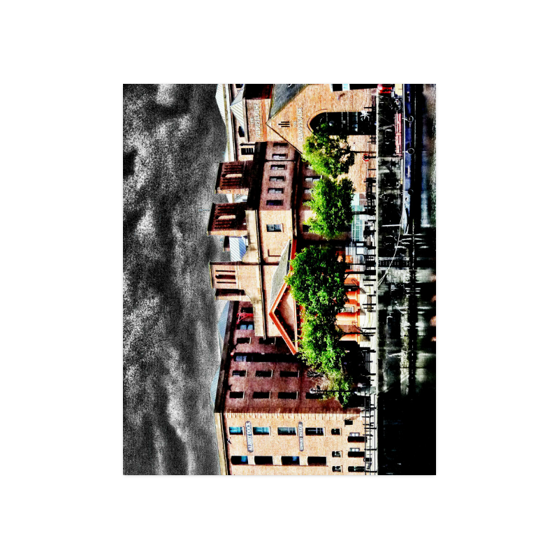 "UK Albert-Dock - Jera Nour Poster 20""x16"""