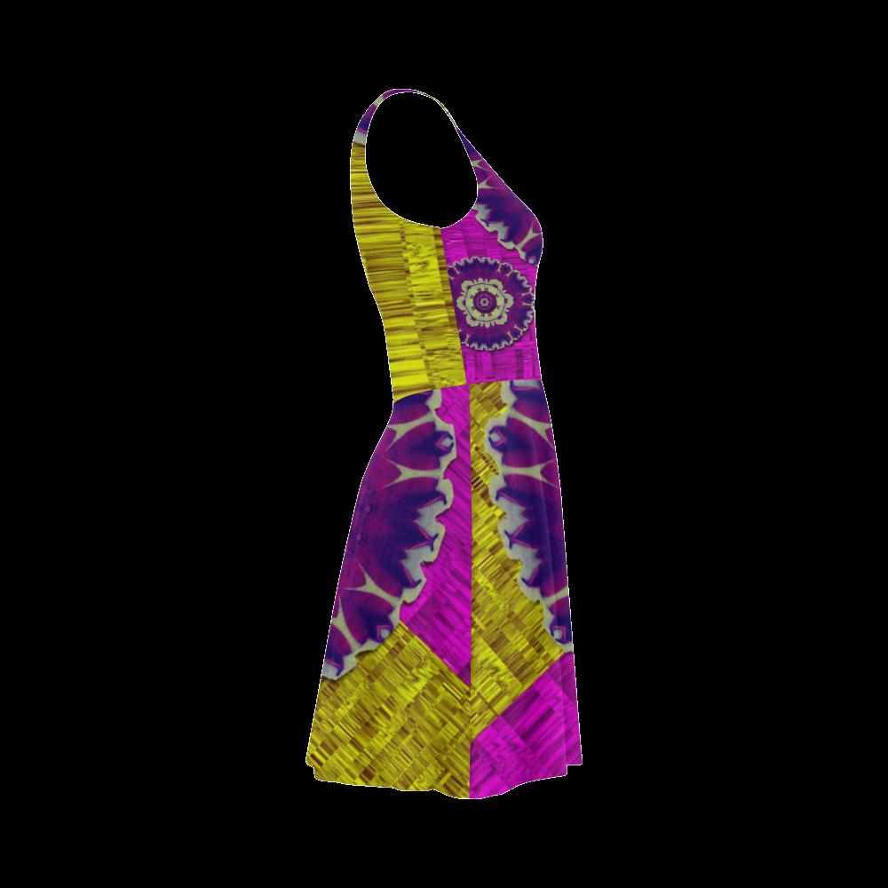 Decorative leaf on paper Atalanta Sundress (Model D04)