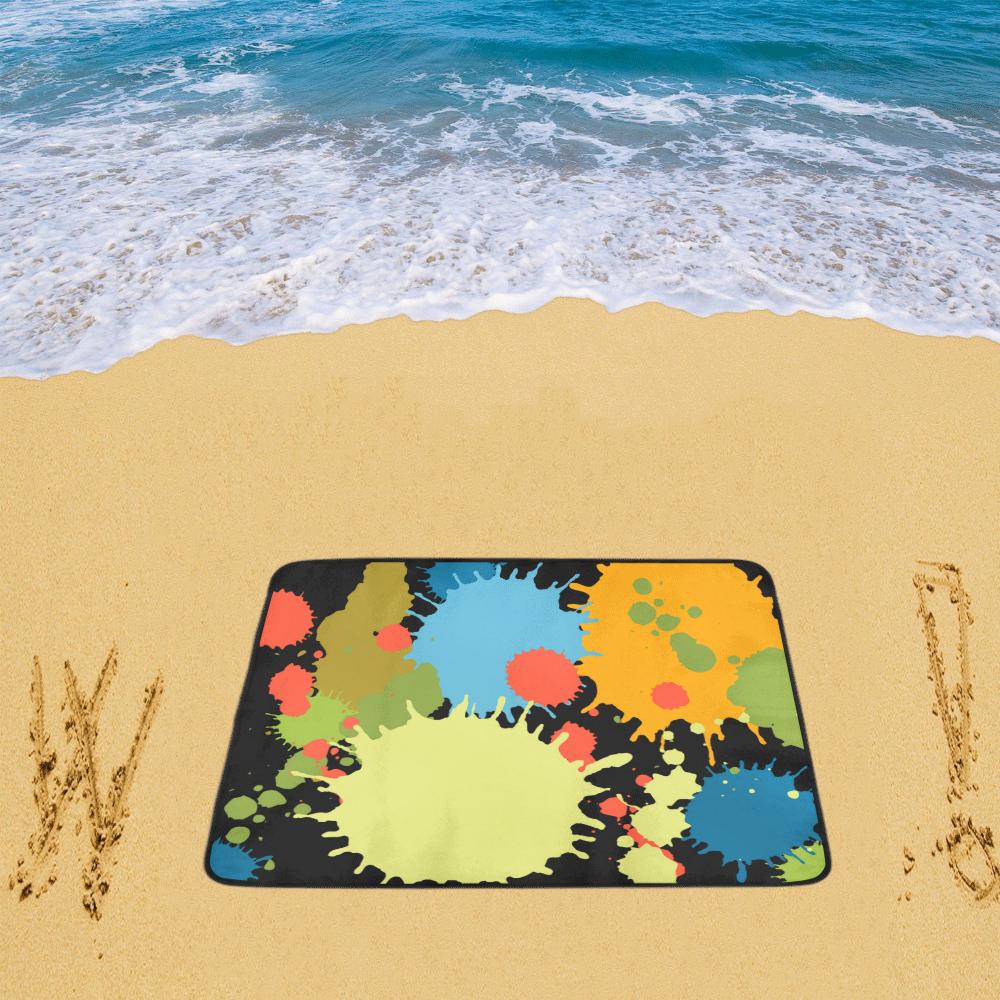 "New Splash Design Beach Mat 78""x 60"""