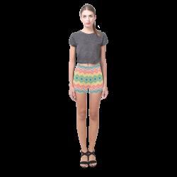 Summer-color Chevron 2 Briseis Skinny Shorts (Model L04)