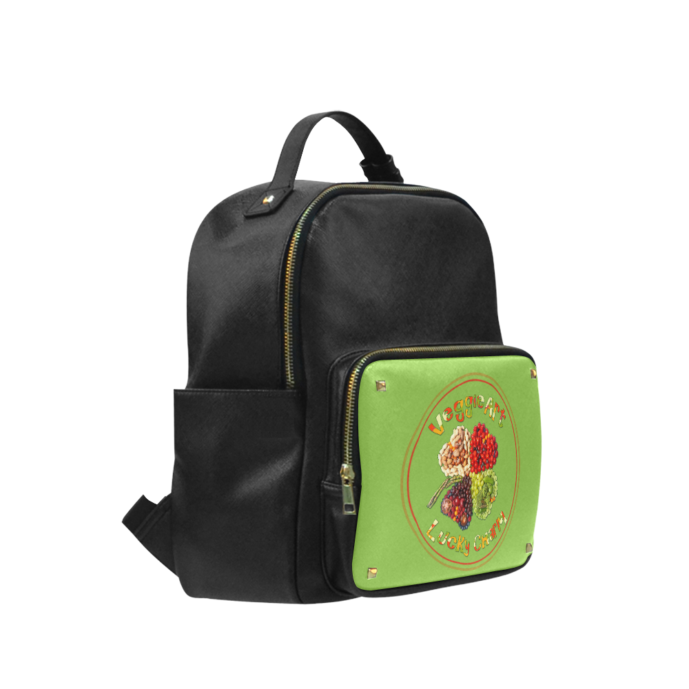 VeggieArt Lucky Charme Campus backpack/Large (Model 1650)