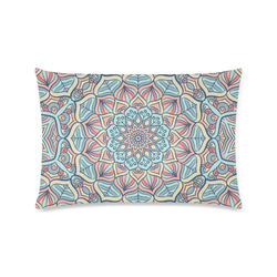 "Beautiful Mandala Design Custom Zippered Pillow Case 16""x24""(Twin Sides)"