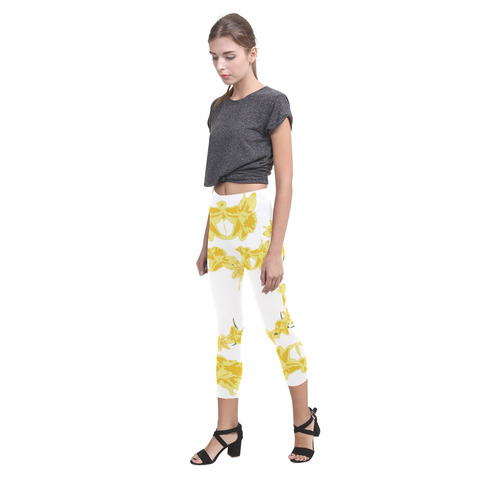 Daffodils Capri Legging (Model L02)
