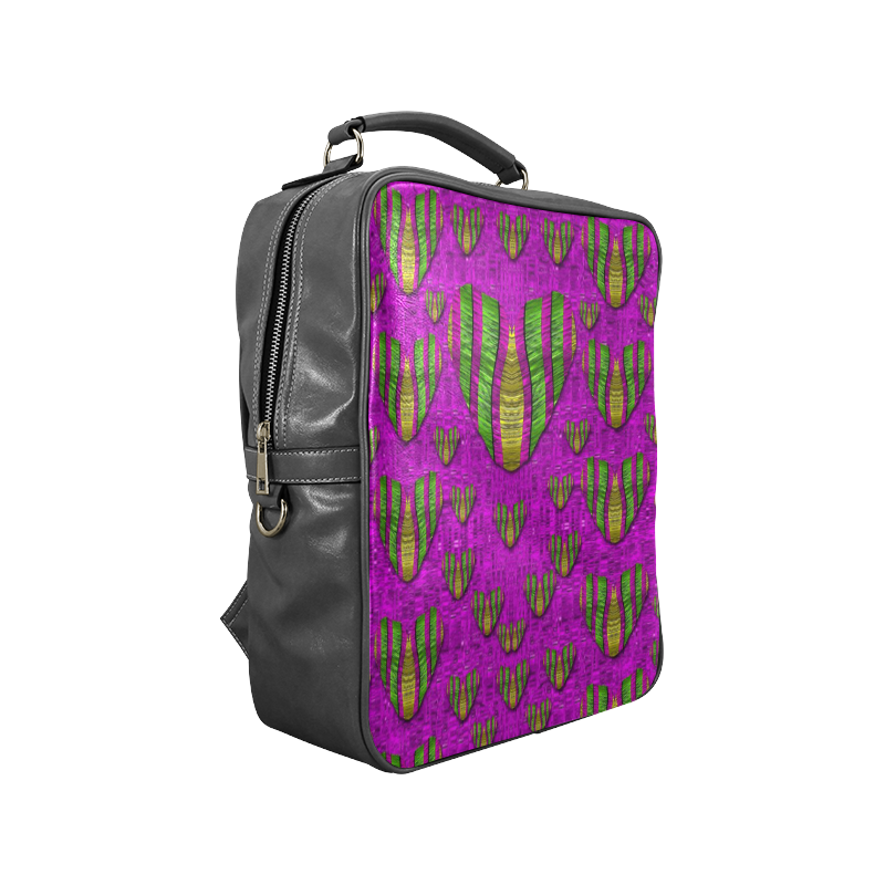 Love in colors and heart in rainbows Square Backpack (Model 1618)