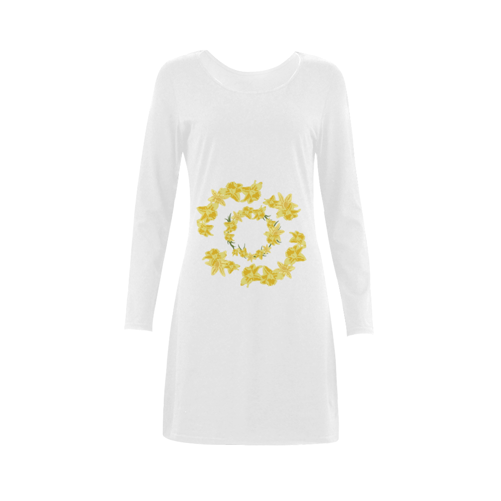 Daffodils Demeter Long Sleeve Nightdress (Model D03)
