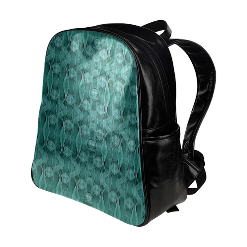 Celtic gothic knots in pop art Multi-Pockets Backpack (Model 1636)