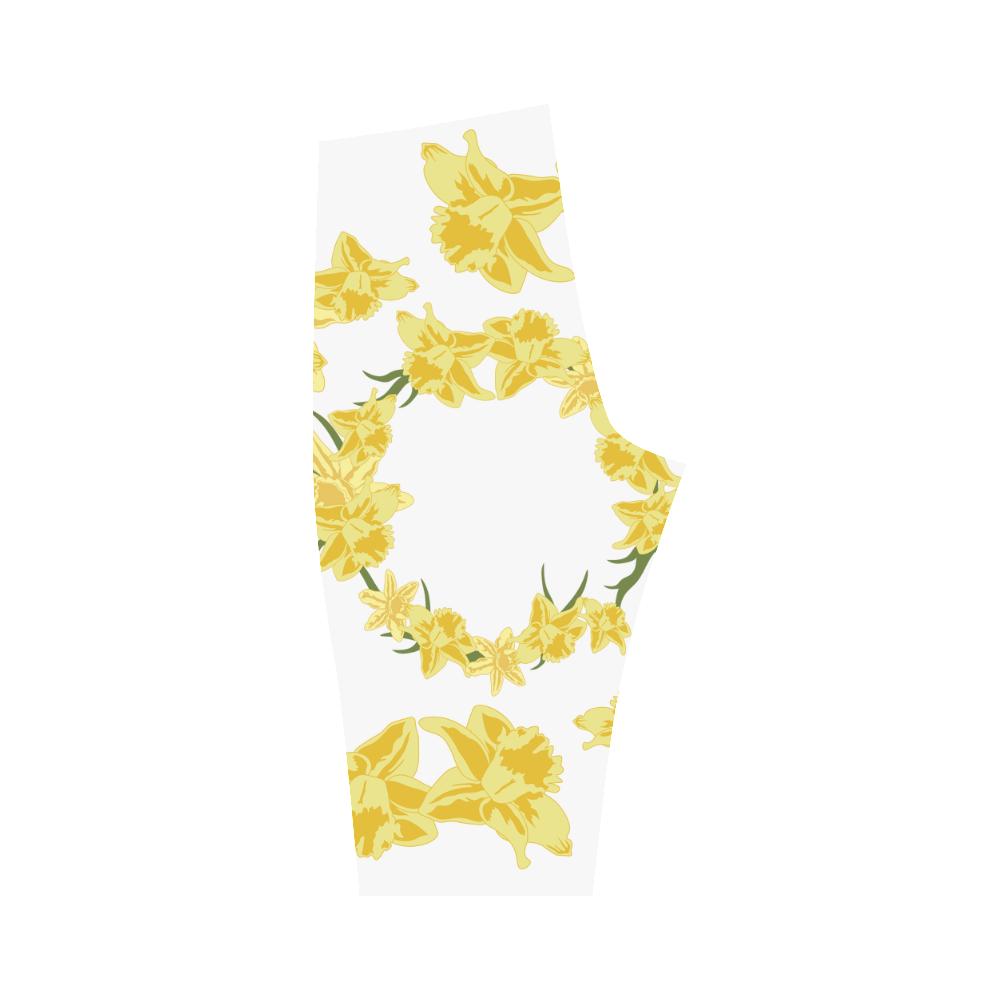Daffodils Hestia Cropped Leggings (Model L03)