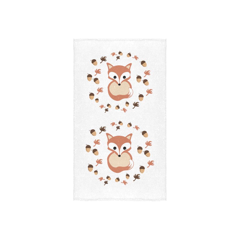 "Fox in autumn Custom Towel 16""x28"""