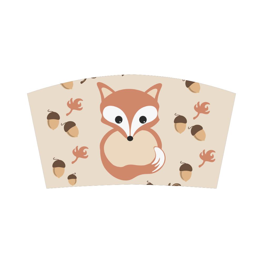 Fox in autumn Bandeau Top