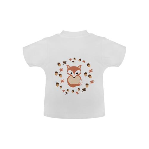 Fox in autumn Baby Classic T-Shirt (Model T30)