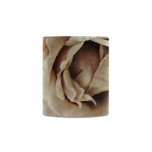 Roses in autumn White Mug(11OZ)