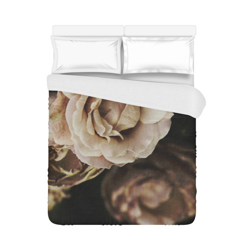 "Roses in autumn Duvet Cover 86""x70"" ( All-over-print)"