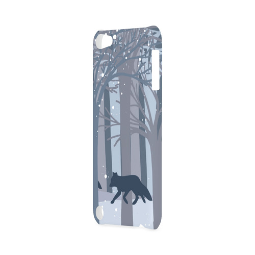 Foxes in the winter forest Hard Case for iPod Touch 5