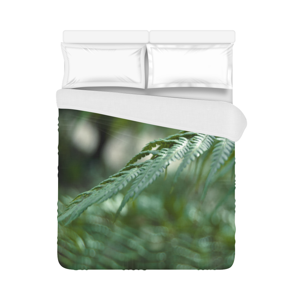 "Nature green Duvet Cover 86""x70"" ( All-over-print)"
