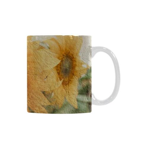 Sunflowers White Mug(11OZ)