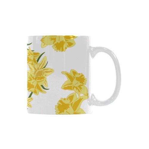 Daffodils White Mug(11OZ)
