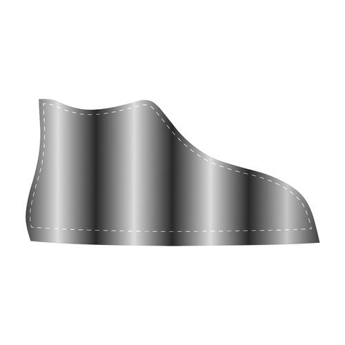 Silverbars Men's High Top Canvas Shoes (Model 002)