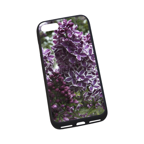 """Lilac flowers Rubber Case for iPhone 7 4.7"""""""