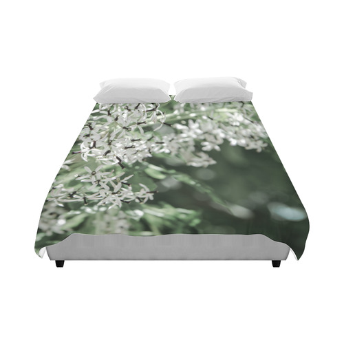 "spring flowers Duvet Cover 86""x70"" ( All-over-print)"