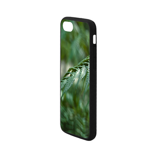 Nature green Rubber Case for iPhone 7 4.7""