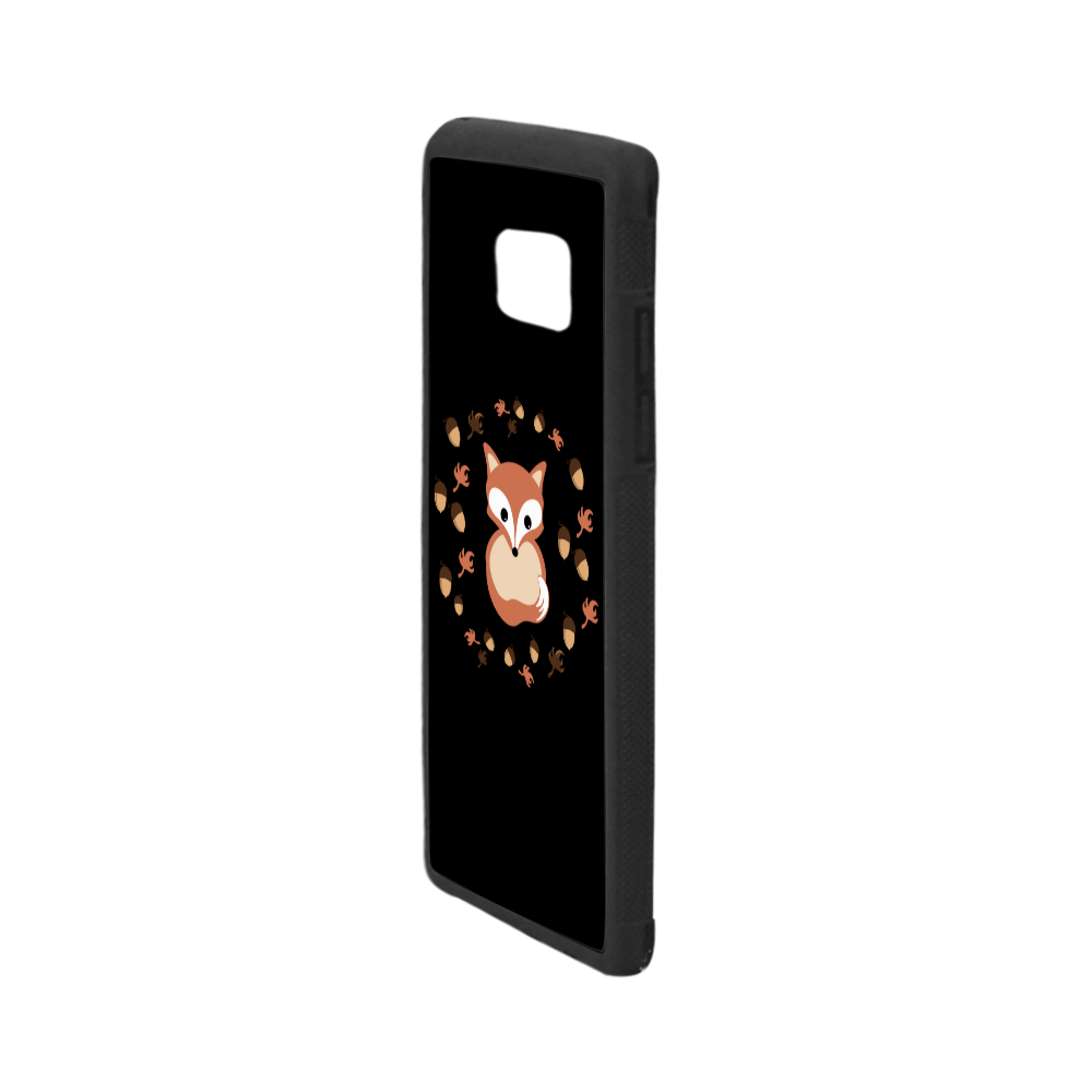 Fox in autumn Rubber Case for Samsung Galaxy Note7