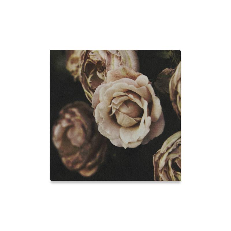 "Roses in autumn Canvas Print 16""x16"""