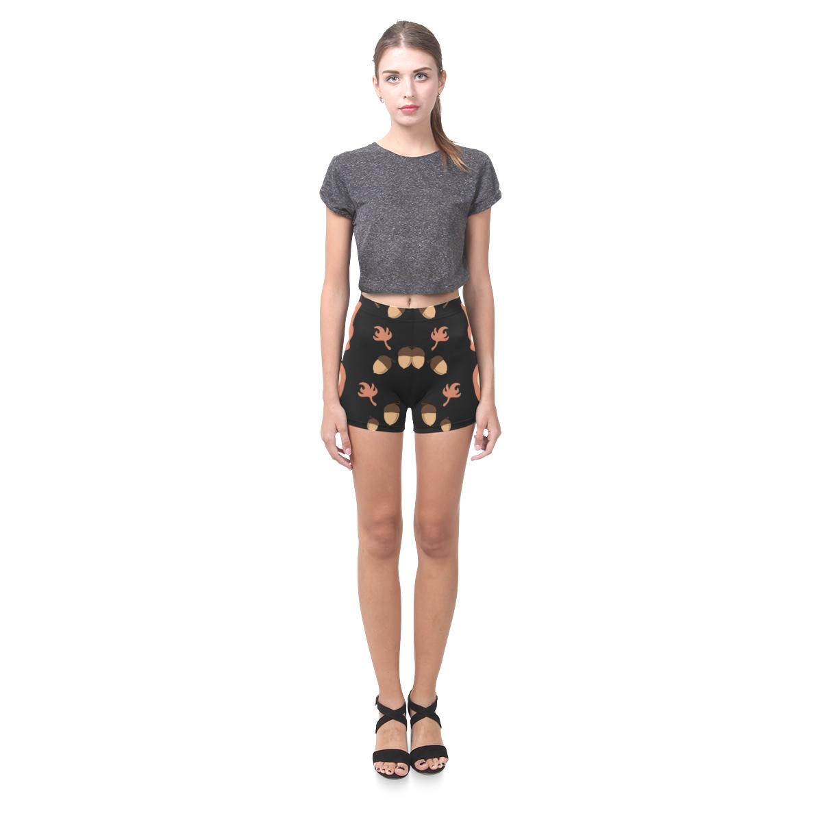 Fox in autumn Briseis Skinny Shorts (Model L04)