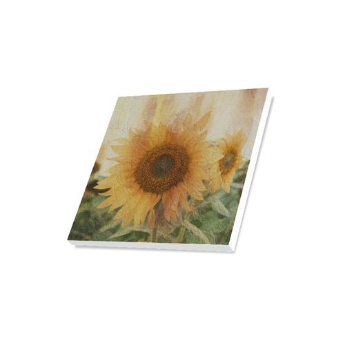 "Sunflowers Canvas Print 16""x16"""
