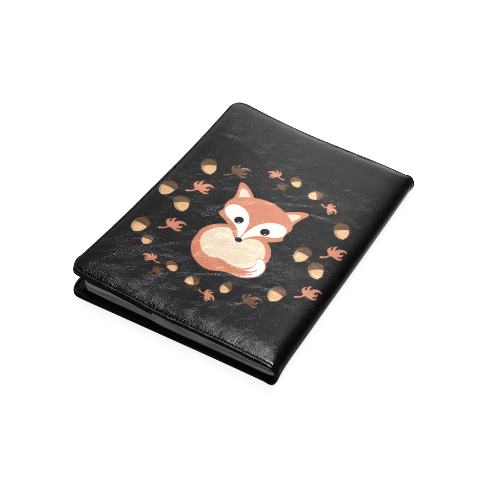 Fox in autumn Custom NoteBook B5