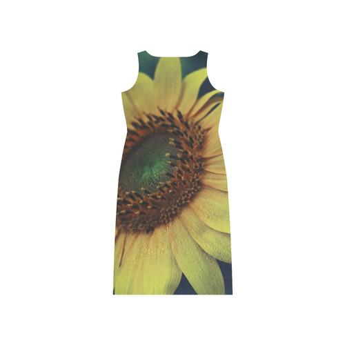 Sunflower Phaedra Sleeveless Open Fork Long Dress (Model D08)