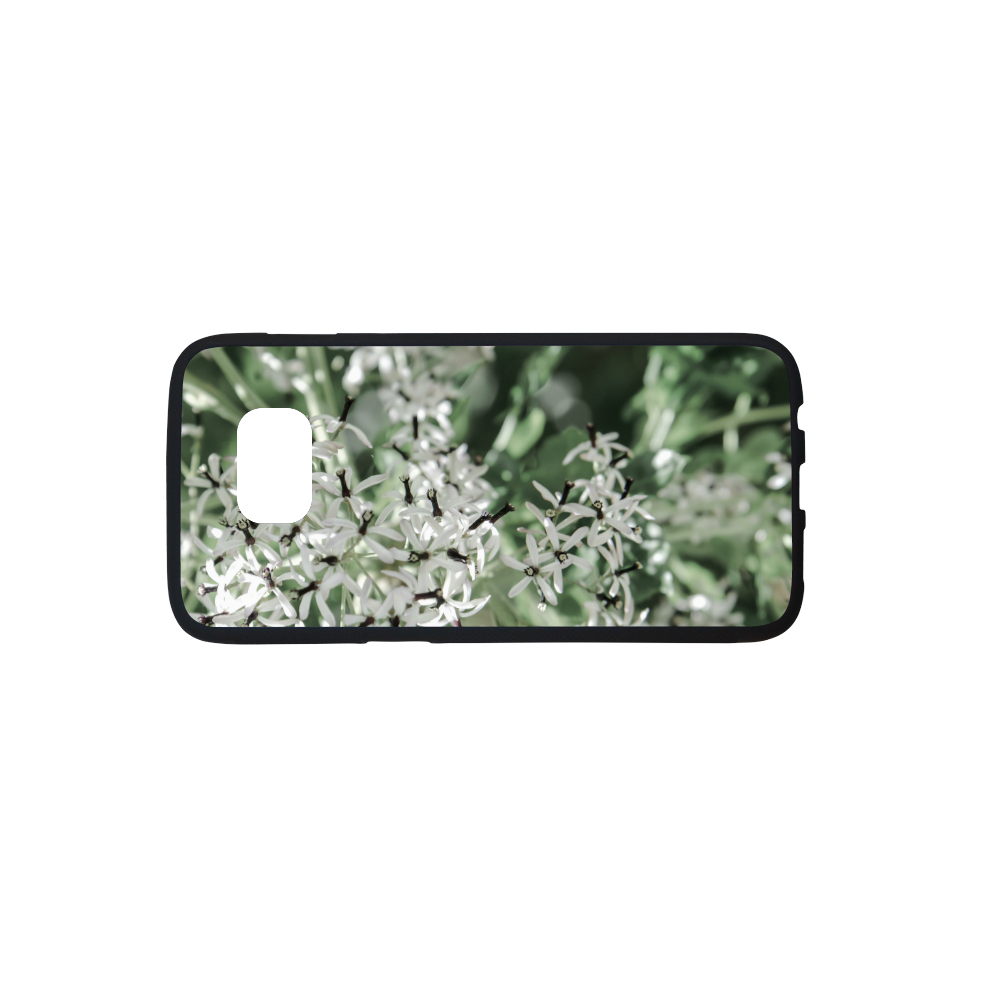 spring flowers Rubber Case for Samsung Galaxy S7 edge