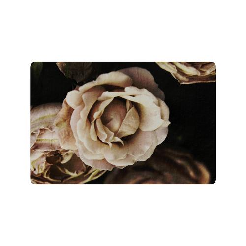 """Roses in autumn Doormat 24"""" x 16"""""""