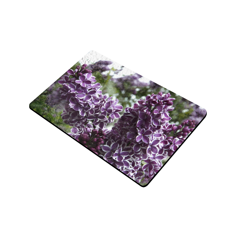 """Lilac flowers Doormat 24"""" x 16"""""""