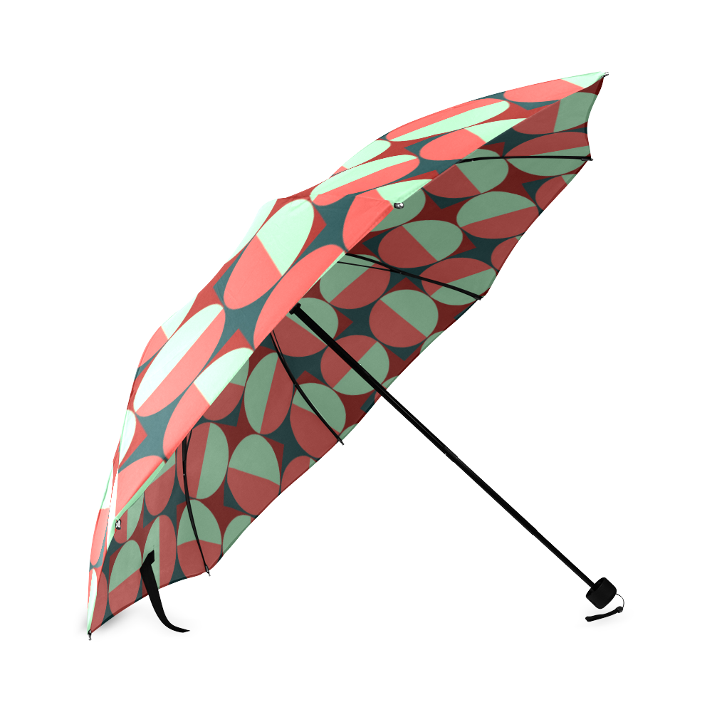 Modernist Geometric Tiles Foldable Umbrella (Model U01)