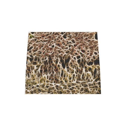 Misty Fur Coral - Jera Nour Boston Handbag (Model 1621)