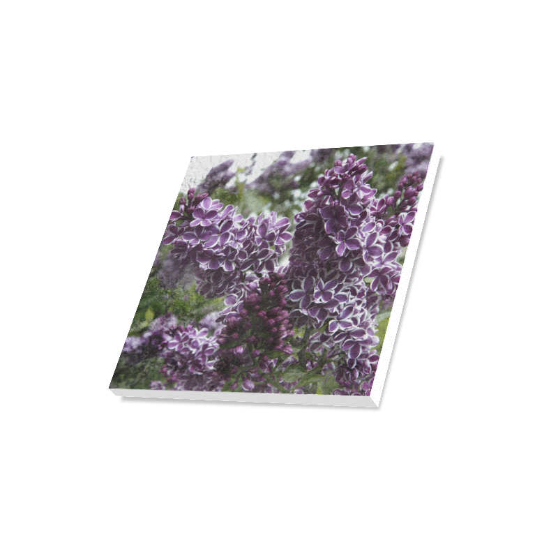 "Lilac flowers Canvas Print 16""x16"""
