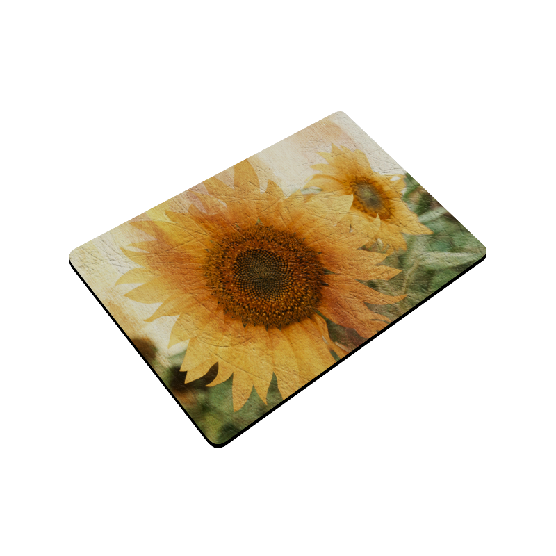 """Sunflowers Doormat 24"""" x 16"""""""