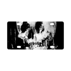 All Is Vanity Halloween Life, Death, and Existence Classic License Plate