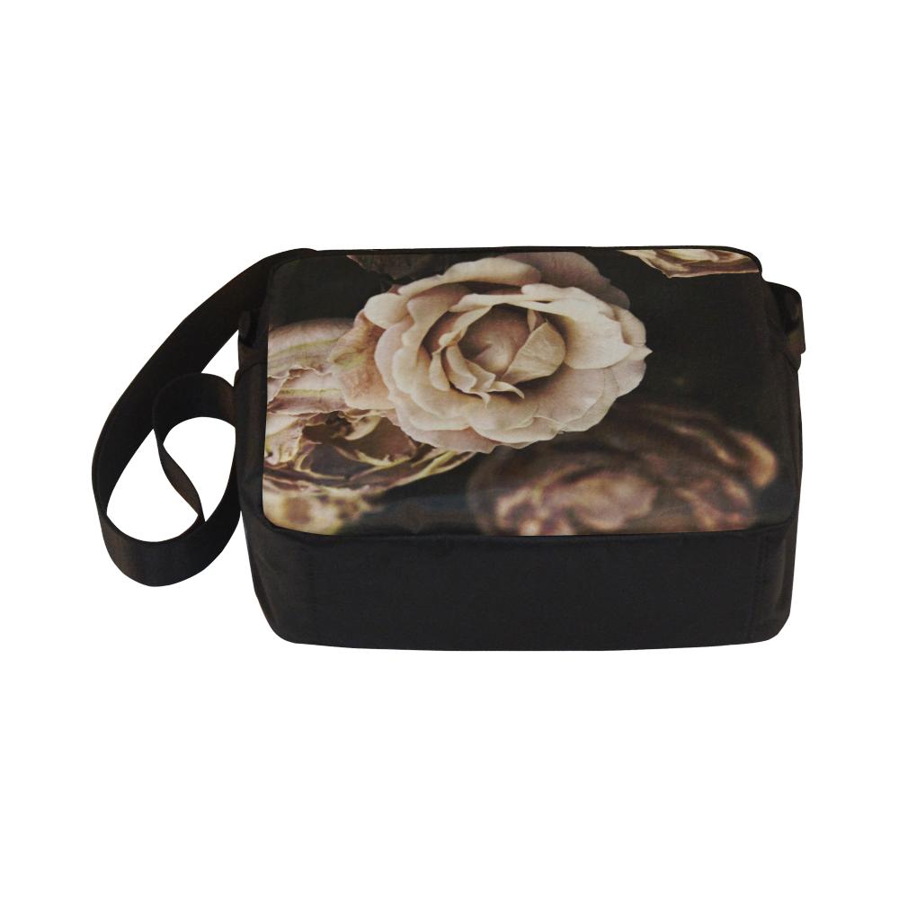 Roses in autumn Classic Cross-body Nylon Bags (Model 1632)
