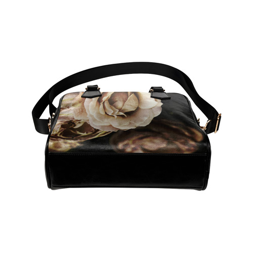 Roses in autumn Shoulder Handbag (Model 1634)