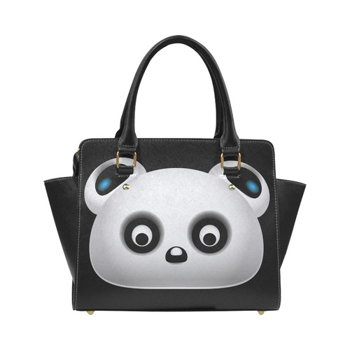 Panda Bear Classic Shoulder Handbag (Model 1653)