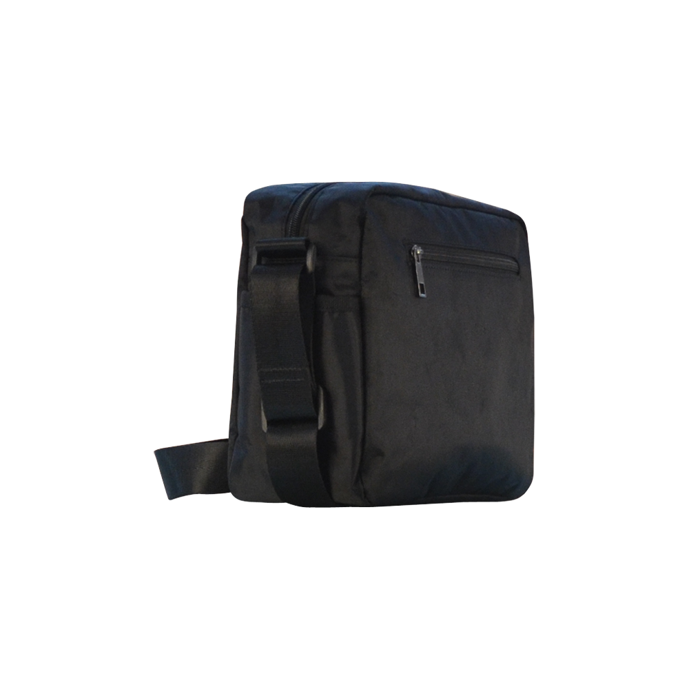 Orca illustration Classic Cross-body Nylon Bags (Model 1632)