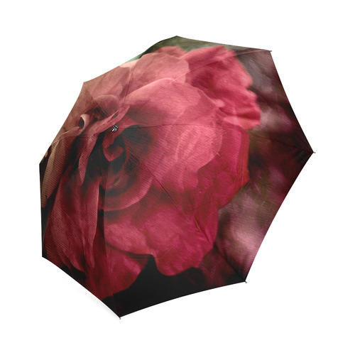 Rose Foldable Umbrella (Model U01)