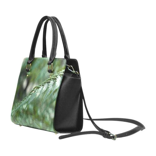 Nature green Classic Shoulder Handbag (Model 1653)