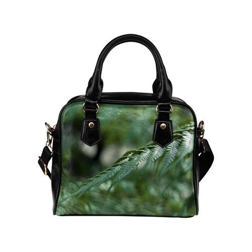 Nature green Shoulder Handbag (Model 1634)