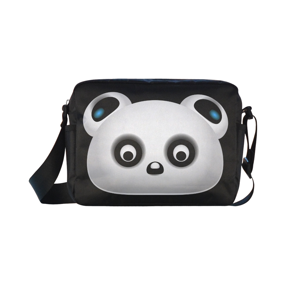 Panda Bear Classic Cross-body Nylon Bags (Model 1632)