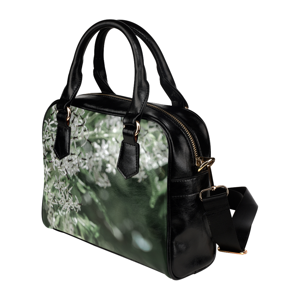 spring flowers Shoulder Handbag (Model 1634)