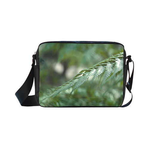 Nature green Classic Cross-body Nylon Bags (Model 1632)