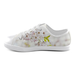 Blossoms Canvas Kid's Shoes (Model 016)